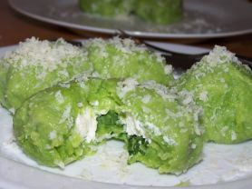 bärlauch-gnocchi, gefüllt | Hochgeladen von: tina a