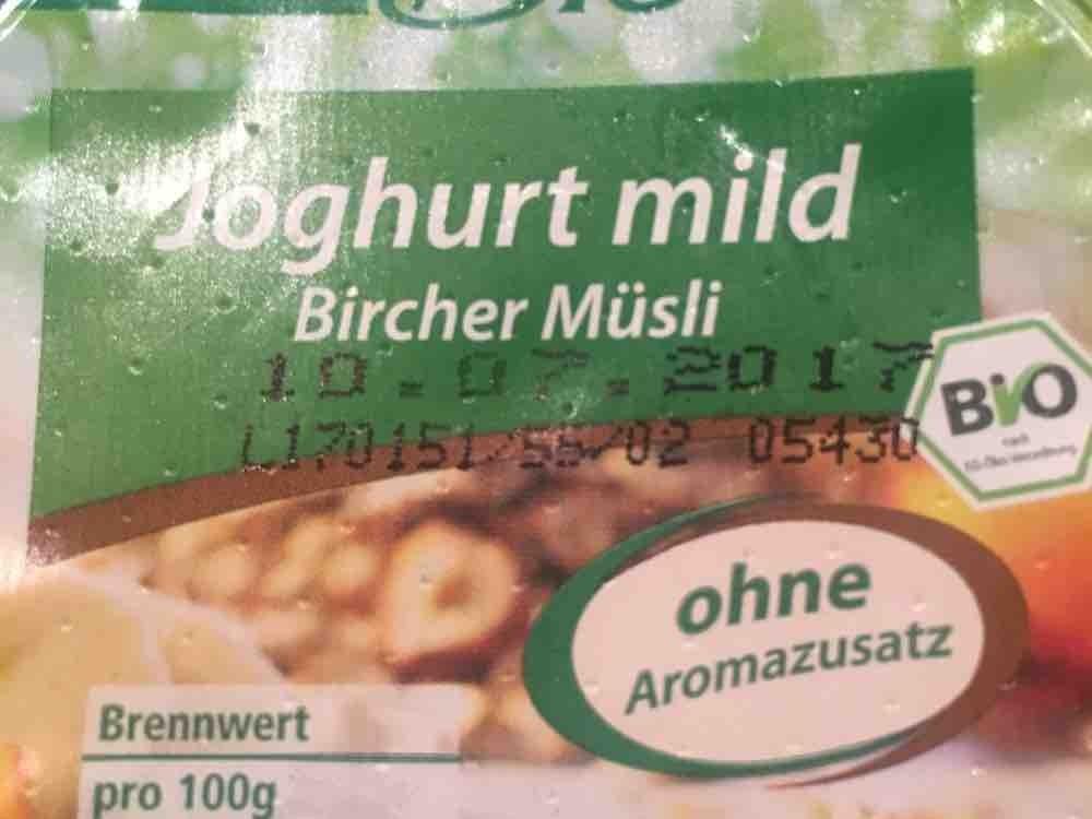 Joghurt, Bircher Müsli von Conspire | Hochgeladen von: Conspire
