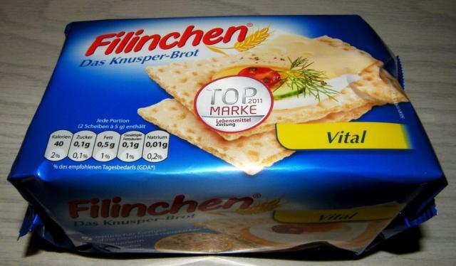 Filinchen Das Knusper-Brot Vital 75g
