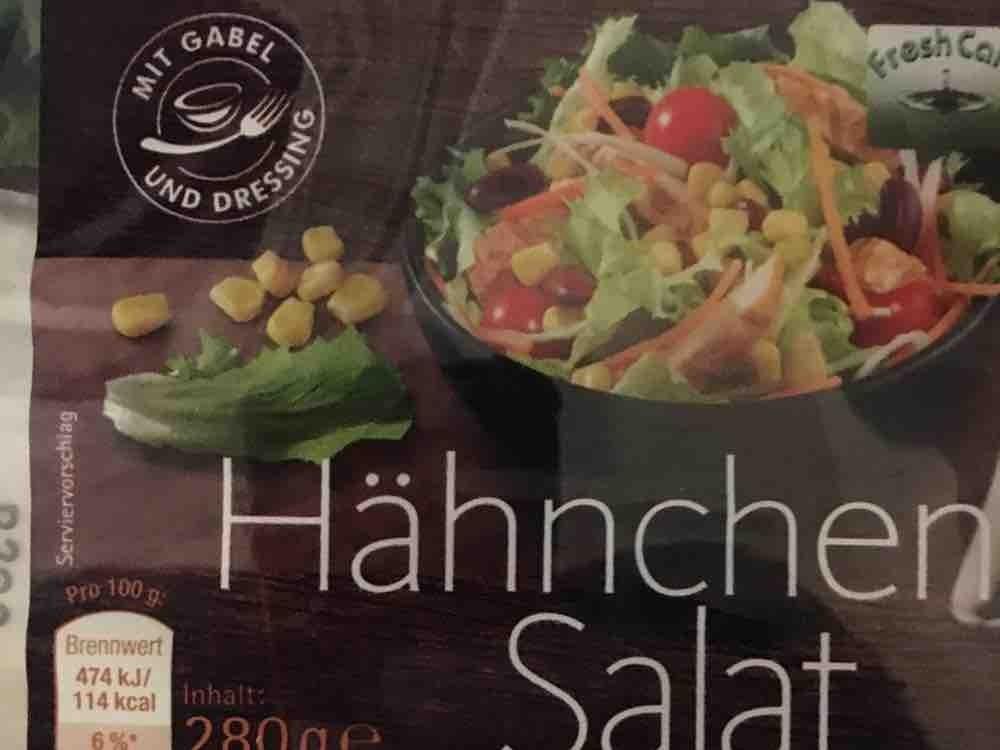 Salat hahnchenbrust kalorien