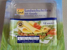 Sandwichscheiben mit Gouda | Hochgeladen von: mmtarget