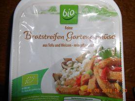 ALDI Bio Bratstreifen Gartengemüse | Hochgeladen von: Highspeedy03