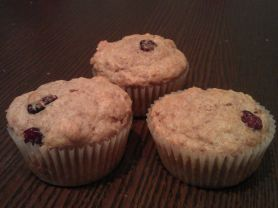 Dinkel-Cranberry-Muffins | Hochgeladen von: jaja84