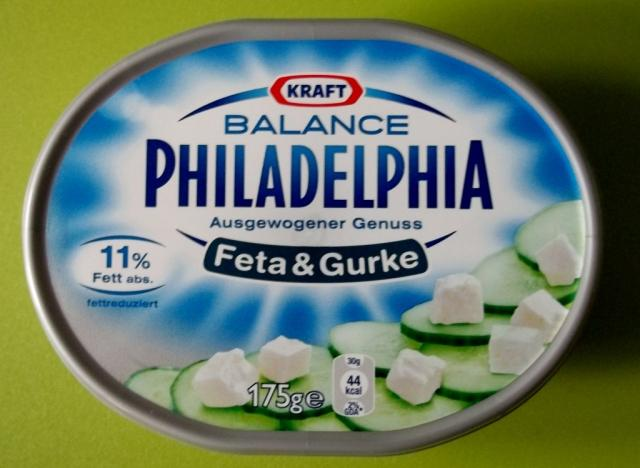 Philadelphia, Gurke & Feta (Balance) 11% Fett   Hochgeladen von: Katthi