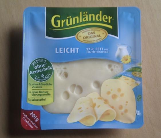 Käseaufschnitt Grünländer leicht, natur | Hochgeladen von: nomatt3r