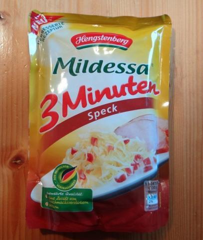 Hengstenberg Mildessa 3 Minuten Speck 400 g