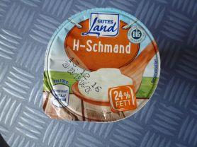 H-Schmand GUTES Land 24% FETT | Hochgeladen von: Dunja11
