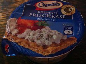 Cremisèe, Körniger Frischkäse | Hochgeladen von: funta