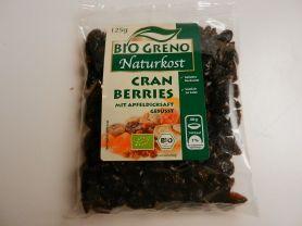 Bio Greno Cranberries, mit Apfeldicksaft gesüsst | Hochgeladen von: maeuseturm