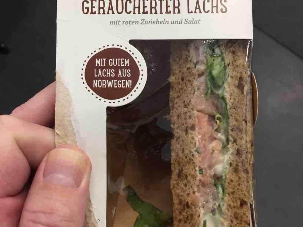 NATSU Sandwich Geräucherter Lachs, 1 Packung von mickeywiese   Hochgeladen von: mickeywiese