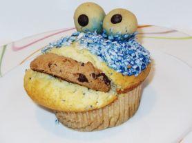 # Hingucker: Krümelmonster Muffin | Hochgeladen von: Pinkzessin