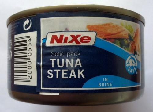 Nixa Tuna Steak in Brine 195 g