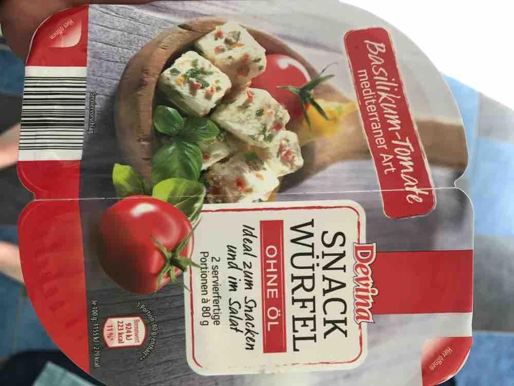 Snack Würfel Basilikum-Tomate - Devina - Aldi von monani0312 | Hochgeladen von: monani0312