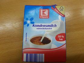 Kondensmilch 10% Fett, Milch | Hochgeladen von: Fritzmeister