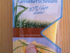 Genießerscheiben 10% Fett, mild-nussig | Hochgeladen von: wuschtsemmel