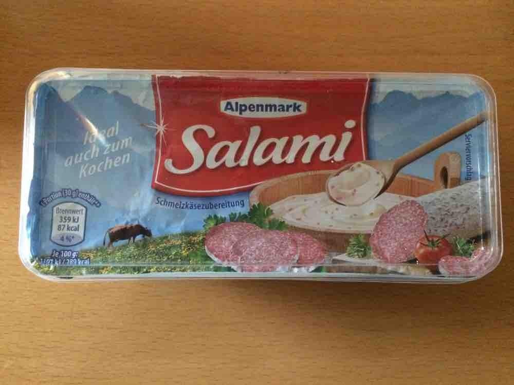 Schmelzkäse Salami Alpenmark Aldi von brakers18601 | Hochgeladen von: brakers18601