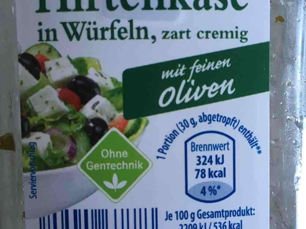 Hirtenkäse in Würfeln, Kräuter von ickeundich   Hochgeladen von: ickeundich