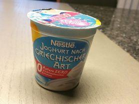 nestl joghurt nach griechischer art 0 1 fett nature kalorien joghurt fddb. Black Bedroom Furniture Sets. Home Design Ideas