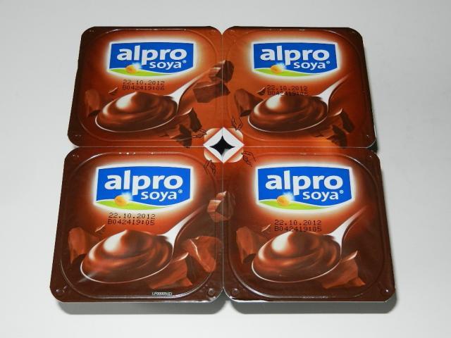 alpro soya Dunkle Schokolade Feinherb 4 x 125 g