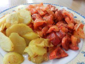 Veg. Filetstückchen in Paprikarahmsauce - 250 kc | Hochgeladen von: maeuseturm