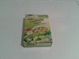 Heisse Tasse, Lauchcreme Suppe mit Knusper-Croutons | Hochgeladen von: schreischatten