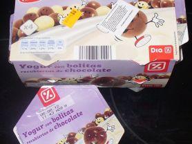 Dia% - Yogur con bolitas recubiertas de chocolate | Hochgeladen von: Schwarzbär