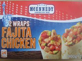 Wrap, Fajita Chicken   Hochgeladen von: Nobbistrine