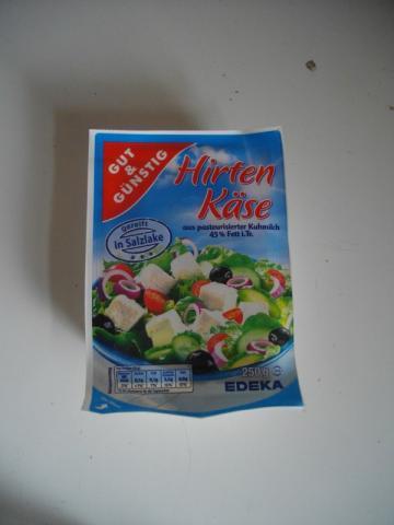 Gut & Günstig Hirtenkäse 45 % Fett 250 g