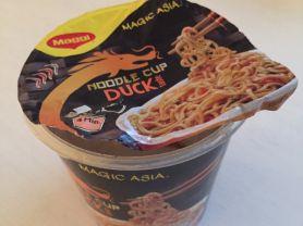 Magic Asia Noodle Cup Duck taste, Ente | Hochgeladen von: LutzR