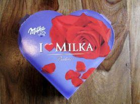 I Love Milka Hauchzarte Herzen, Alpenmilch | Hochgeladen von: CaroHayd