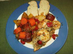 Fleisch-Huhn-Iberischer Eintopf 711 kcal/Pers | Hochgeladen von: Muminni