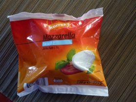 Mozzarella, leicht (Korrekt) | Hochgeladen von: be54517