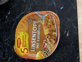 5 Minuten Terrine Linsentopf mir Kartoffeln, Linsen | Hochgeladen von: andy267