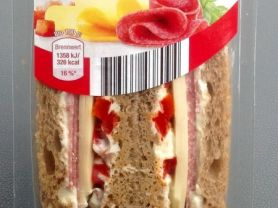 Breadies Sandwich Salami-Käse | Hochgeladen von: NickTheDriver