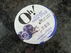 Oh! Yogurt Greek Style, Heidelbeere-Vanille | Hochgeladen von: Guinness93