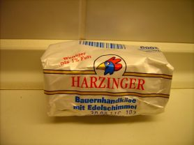 HARZINGER Bauernhandkäse, Edelschimmel | Hochgeladen von: Brigitte23