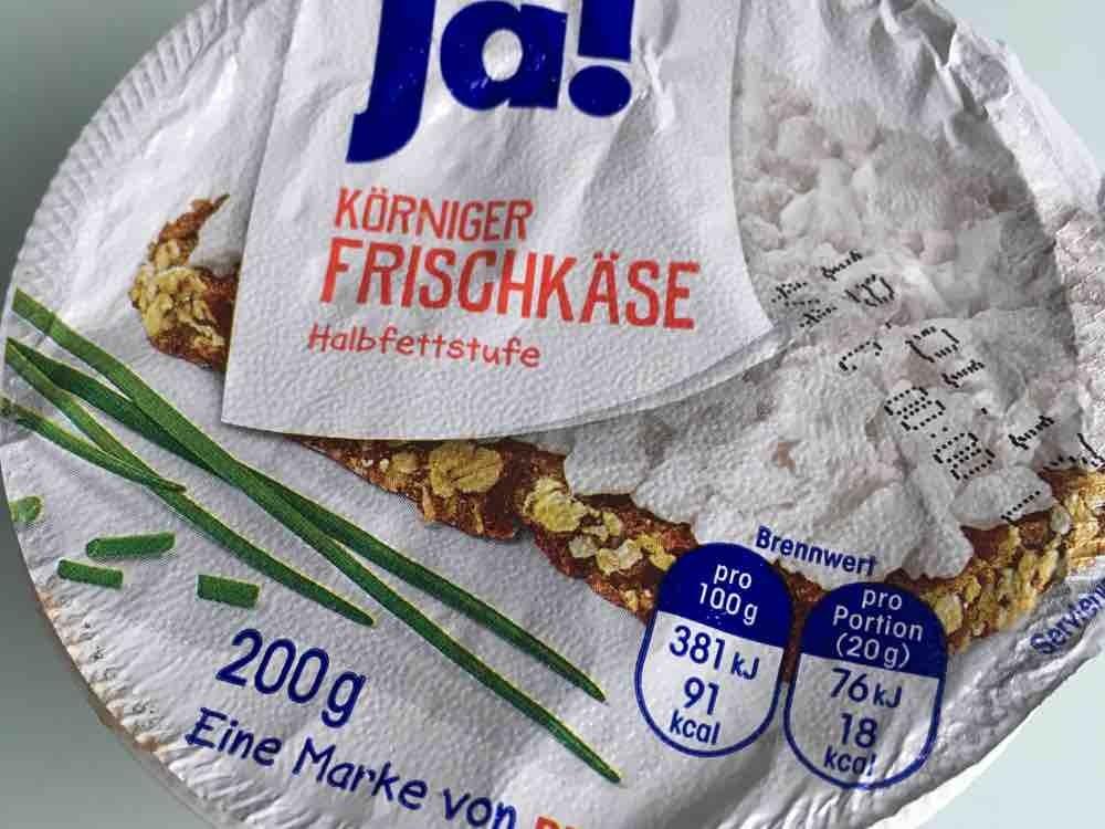 Körniger Frischkäse, Halbfettstufe von dwerner911 | Hochgeladen von: dwerner911