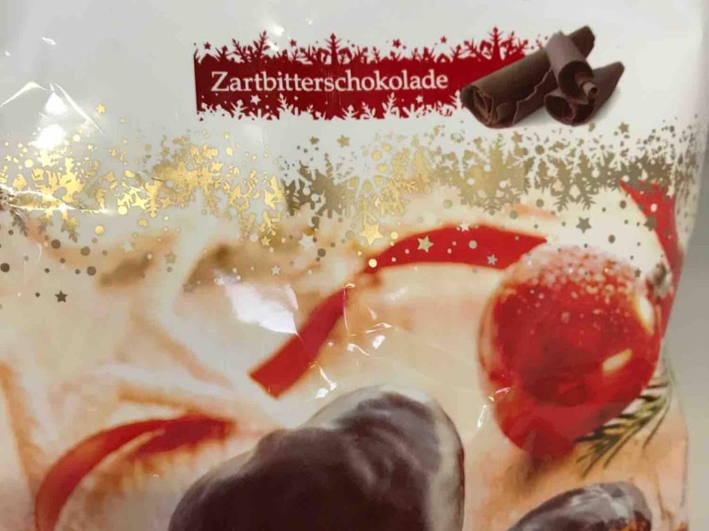 Gefüllte Lebkuchenherzen, mit Zartbitterschokolade von Caitlin | Hochgeladen von: Caitlin