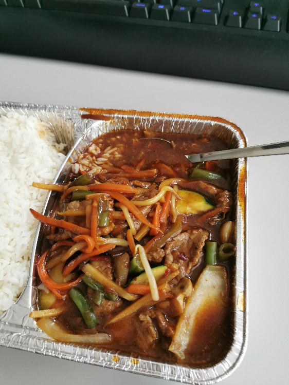 Chop-Suey mit Rind (ohne Reis) von Bandit089 | Hochgeladen von: Bandit089