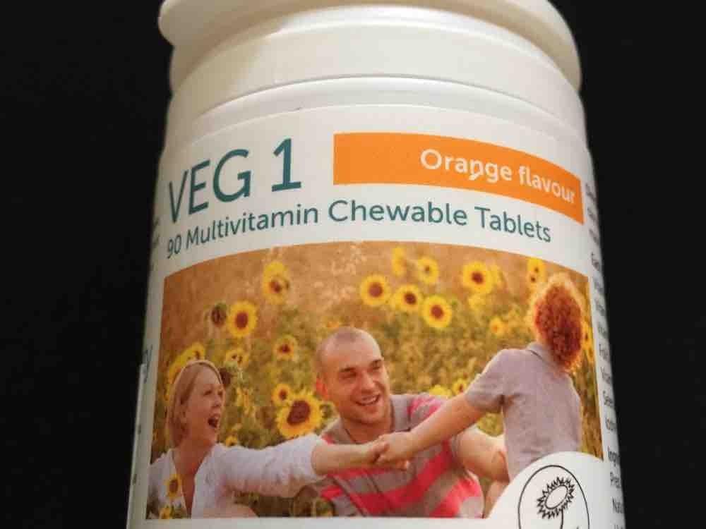VEG 1 (Vegan Society), Orange  von khm | Hochgeladen von: khm