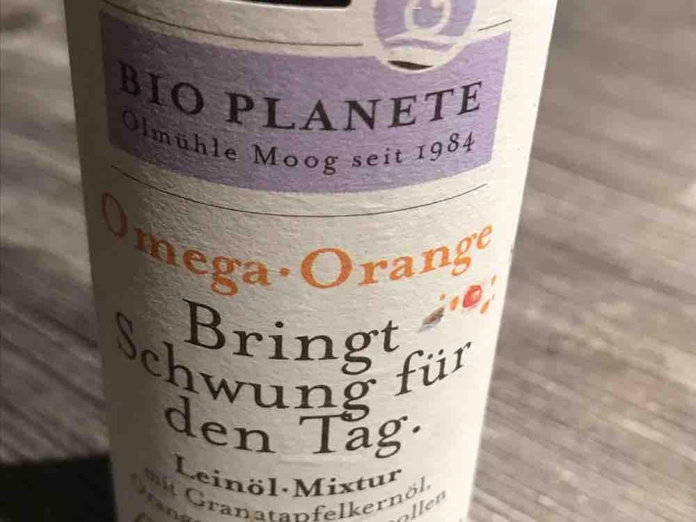 Omega Orange Leinöl Mixtur, mit Granatapfelkernöl, Orangenöl & Blütenpol von Fuechsinx | Hochgeladen von: Fuechsinx