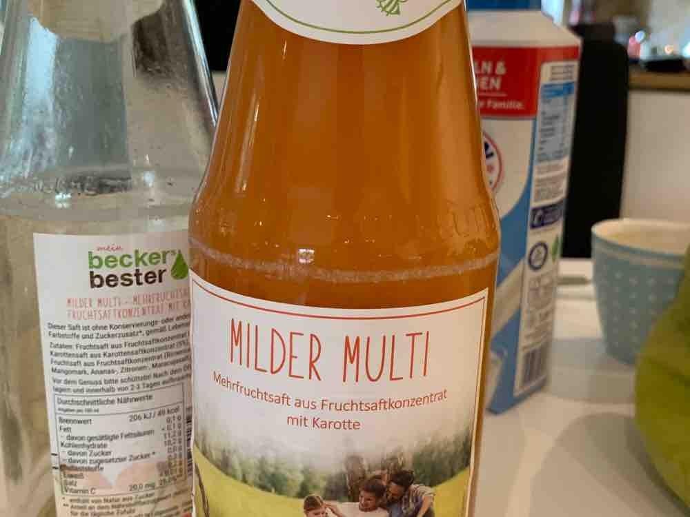 Beckers Bester Multivitamin-MehrfruchtSaft, Multivitamin von krusator | Hochgeladen von: krusator