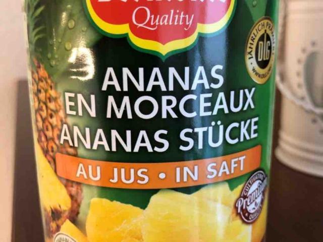 Ananas Stücke, in Saft von ChrisCross41   Hochgeladen von: ChrisCross41