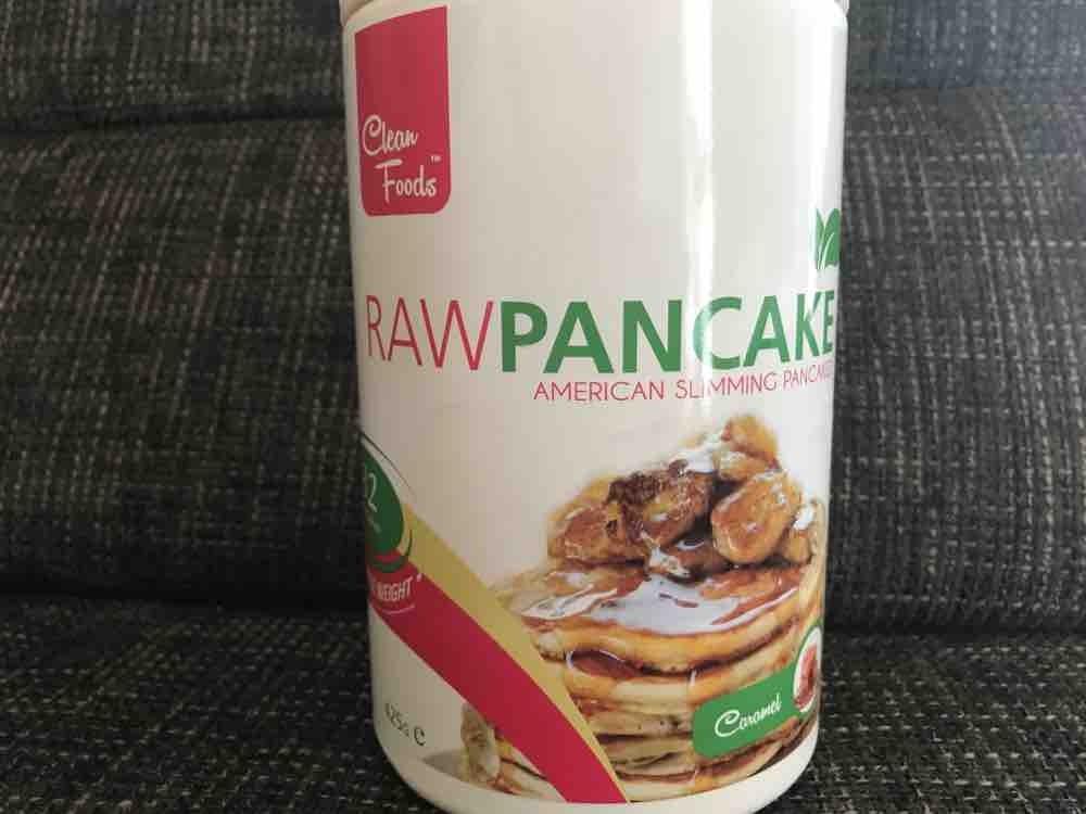 Roh Pancake Trockenprodukt, Karamell von babsihasi | Hochgeladen von: babsihasi