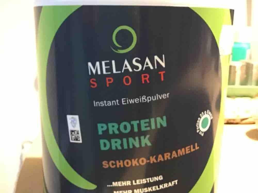 Melasan Protein Drink Schoko Karamell von Trashed | Hochgeladen von: Trashed
