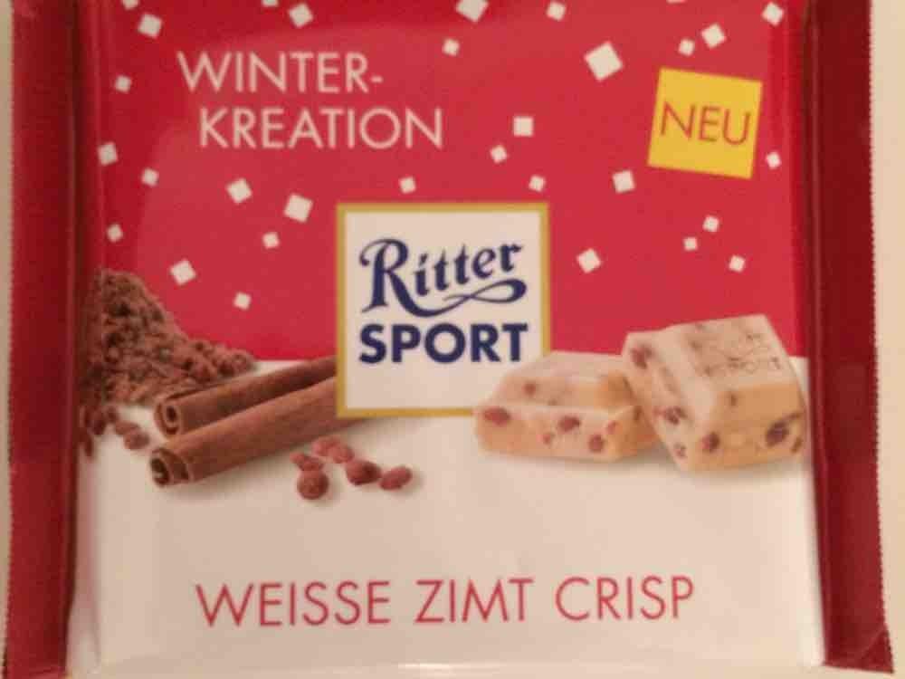 Ritter Sport, white cinnamon crisp  von fabulous | Hochgeladen von: fabulous