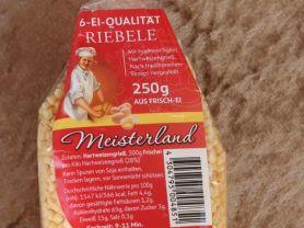 Meisterland Riebele   Hochgeladen von: Notenschlüssel
