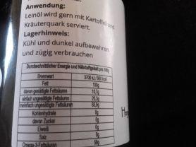 Leinöl, kaltpressverfahren bei 27 grad C in Rohkostquali | Hochgeladen von: birgitmielke