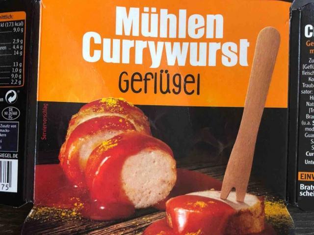 Mühlen Currywurst Geflügel von Blaumond | Hochgeladen von: Blaumond