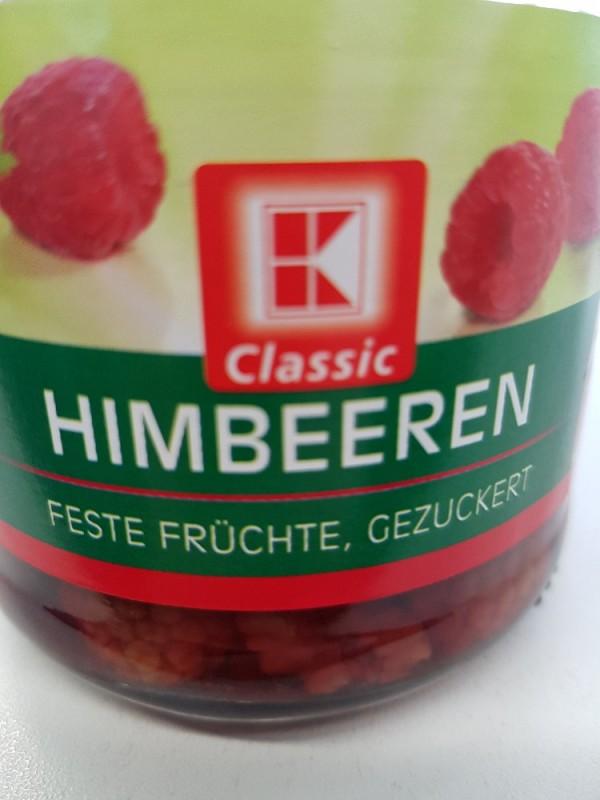 Himbeeren, feste Früchte, gezuckert, im Glas von BorMan | Hochgeladen von: BorMan
